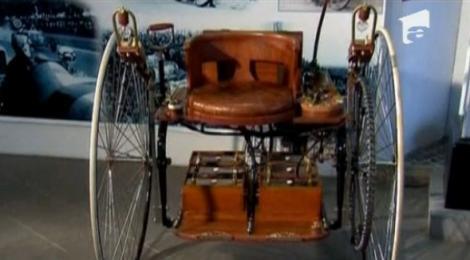 VIDEO! S-a creat o copie a unei masini electrice, construita in urma cu 130 de ani