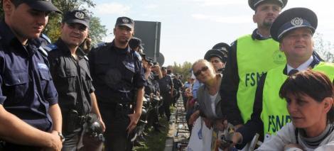 Politistii il ameninta pe Traian Igas cu proteste