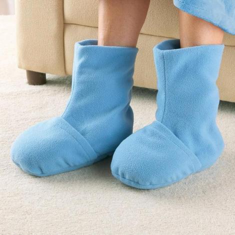 Hot Booties, papucii care se incalzesc la microunde