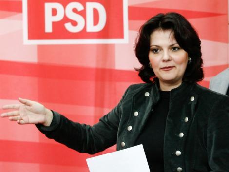 "Olguta Vasilescu, despre Boc si Basescu: ""Prosti, prosti, dar insista!"""