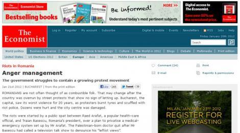 The Economist: Revolte in Romania - Managementul furiei
