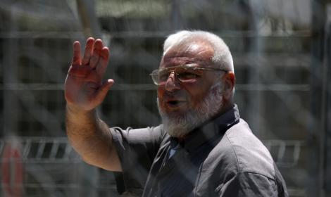 Presedintele Parlamentului palestinian Aziz Dweik, arestat de armata israeliana