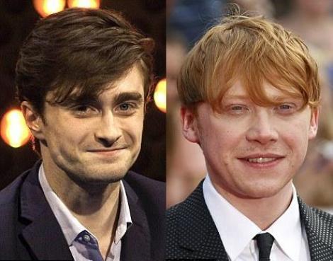 Daniel Radcliffe nu este prieten cu Rupert Grint, colegul lui din Harry Potter