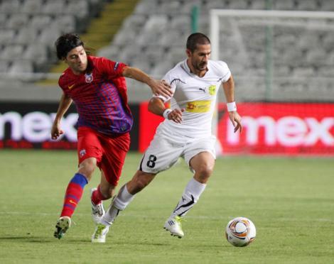 4-4-2 pentru Steaua in retur