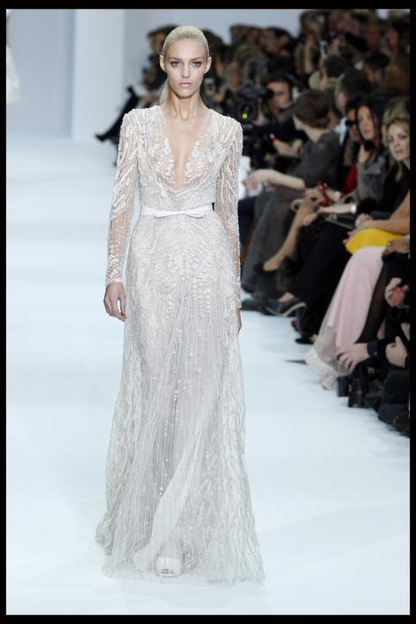 FOTO! Vezi ultima colectie de rochii de mireasa Elie Saab!