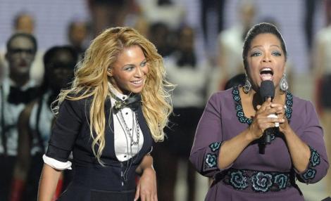 VIDEO! Nasa fetitei lui Beyonce este Oprah Winfrey