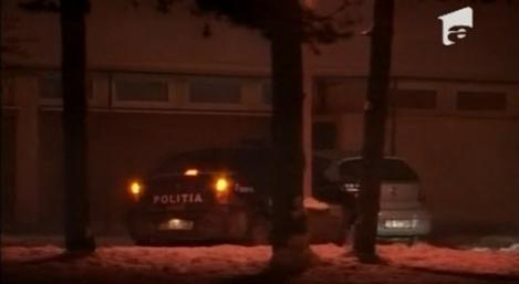 VIDEO! Doi politisti din Sibiu au facut drifturi cu masina politiei