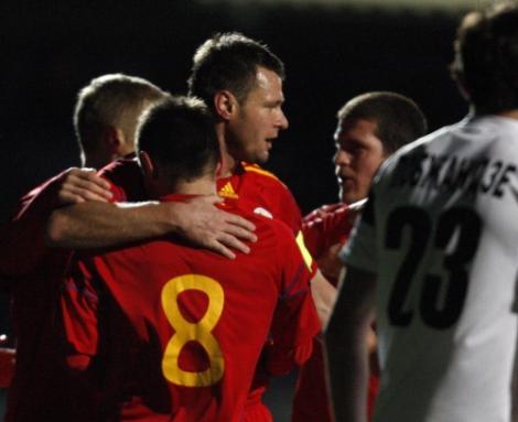 Romania - Kryvbas Krivoi Rog 2-1 / Niculae, salvator
