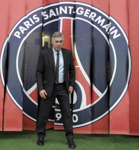 Ancelotti, debut cu infrangere la PSG