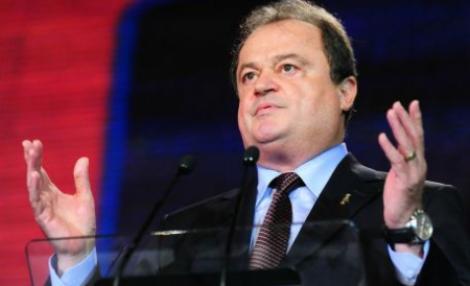 """Vasile Blaga: Natiunea urmareste telenovela """"Elodia guvernamentala"""", regizor Ponta, solist vedeta Diaconescu"""