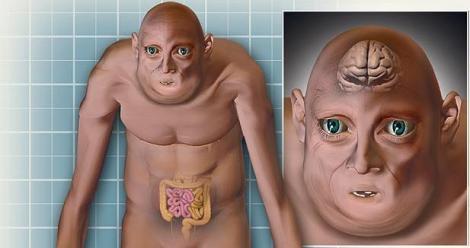 Omul viitorului va avea creierul mai mic, mai putini dinti, dar mai multe riduri. Vezi aici portretul robot!