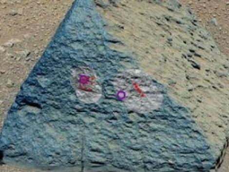 NASA: Curiosity a descoperit pe Marte o roca similara cu cele de pe Terra