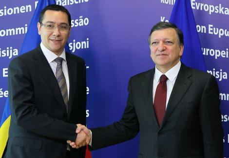 "Jose Manuel Barosso despre intalnirea cu Victor Ponta: ""A fost o intrevedere buna si constructiva"""