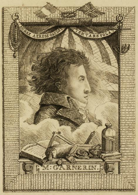 22 octombrie 1797: Garnerin, intaiul parasutist al lumii