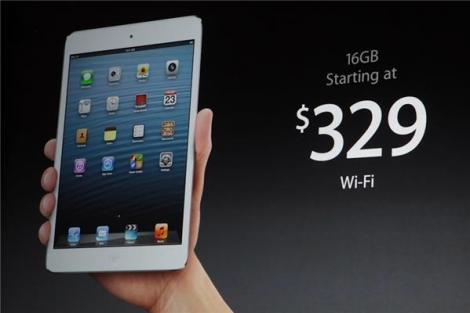 Apple a lansat iPad Mini si inca patru produse: Ipad 4 si noi generatii de Mac Mini, iMac, si MacBook Pro