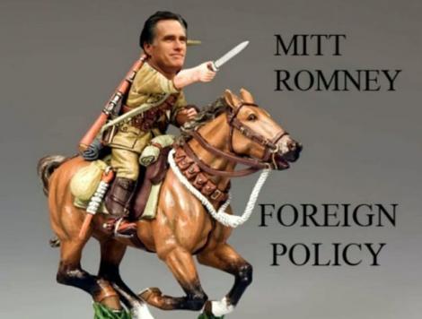 """Calul si baioneta, vedete pe internet. Vezi cele mai tari imagini cu """"armata"""" lui Mitt Romney!"""