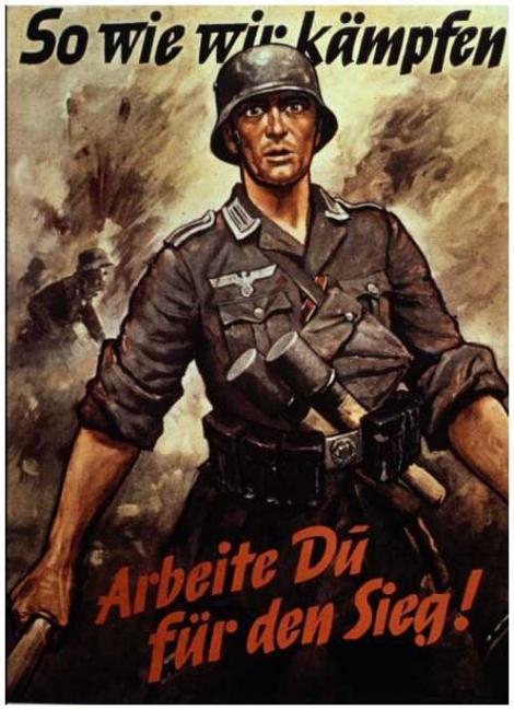GALERIE FOTO! Propaganda din Al Doilea Razboi Mondial. Ce afise impanzeau orasele