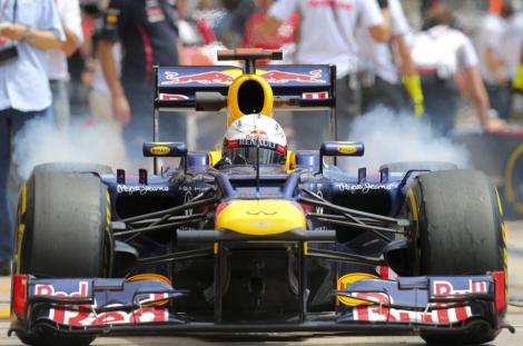 Sebastian Vettel a castigat Marele Premiu al Japoniei. Alonso a abandonat dupa primul viraj!