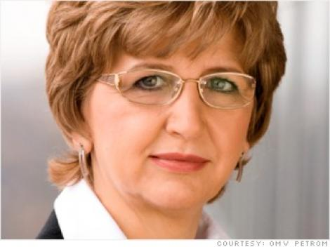 Mariana Gheorghe, directorul general al Petrom, prima romanca in topul Fortune al celor mai puternice femei din lume