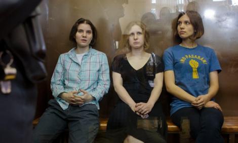 Pussy Riot, Jafar Panahi si un militant belarus, candidati la Premiul Saharov