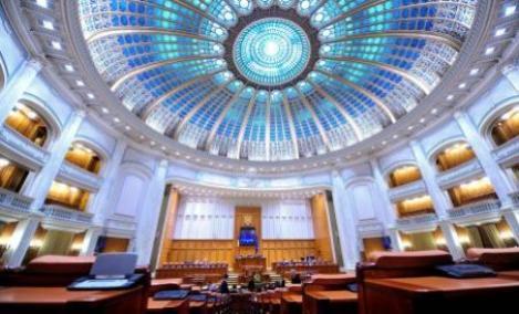 Plenul reunit al Parlamentului a fost convocat marti pentru mesajul lui Ponta