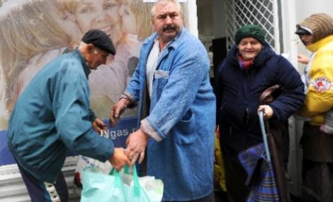 Romania, in topul saraciei in Europa. 17% din romani primesc ajutoare de la UE