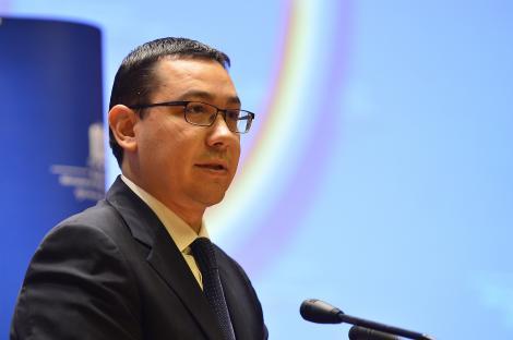 Victor Ponta a discutat cu Hollande despre bugetul UE. Socialistii vor respinge taierea fondurilor europene