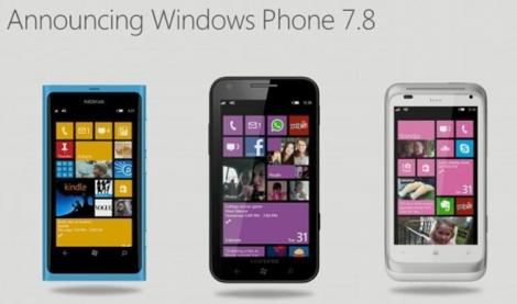 Windows Phone 7.8 are o data de lansare