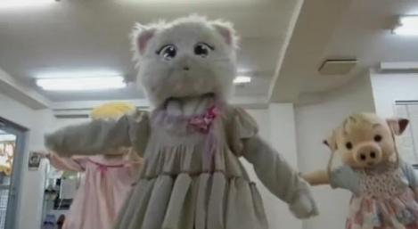 In Japonia exista o scoala pentru mascote profesioniste