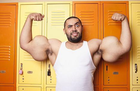 Popeye exista! S-a nascut in Egipt si mananca... 3 kilograme de proteine si 4 kilograme de carbohidrati pe zi!