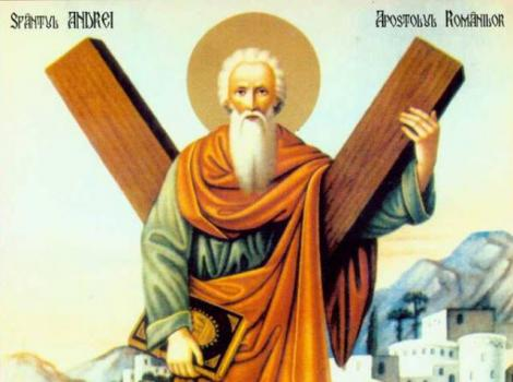 Crestinii il sarbatoresc astazi pe Sfantul Andrei!