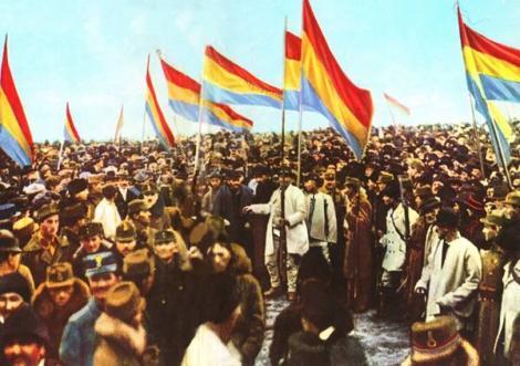 1 decembrie 1918: Transilvania, Banatul, Crisana si Maramuresul s-au unit cu Romania. S-a facut Romania Mare