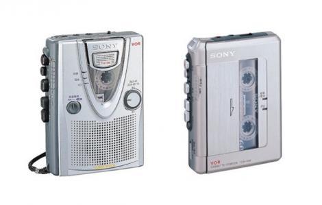 Casetele audio dispar odata cu reportofoanele SONY