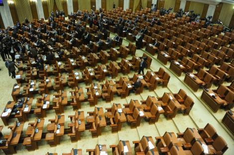 UPDATE! Sedinta Senatului, oprita din lipsa cvorumului: Boc, chemat la discutii
