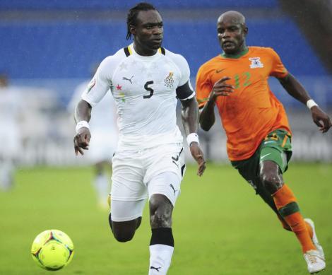 Pantru absenti pentru Ghana in meciul cu Mali