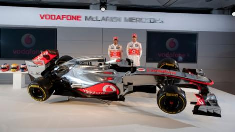 Acesta este noul monopost McLaren MP4-27!