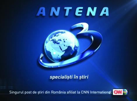 Antena 3, cea mai urmarita televiziune din Romania in luna ianuarie, pe timpul zilei