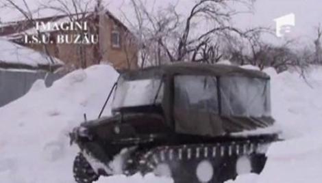 VIDEO! Utilaje care puteau salva vieti in timpul ninsorilor, uitate in garaj