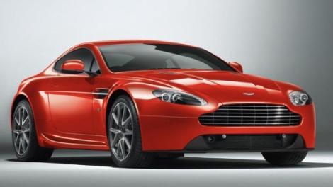 Aston Martin a pregatit un facelift pentru V8 Vantage