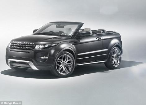 Range Rover lanseaza primul model decapotabil