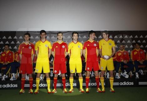 FOTO! FRF a prezentat noul echipament al nationalei Romaniei