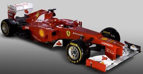 FOTO! Scuderia Ferrari a prezentat noul monopost pentru sezonul 2012