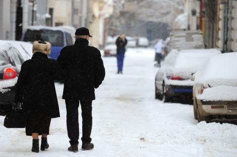 Inca doi oameni au murit de frig in Romania. Bilantul deceselor provocate de hipotermie a ajuns la 24