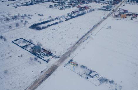UPDATE! Codul galben de ninsoare si viscol a intrat in vigoare: A1, A2 si alte 25 drumuri nationale, inchise