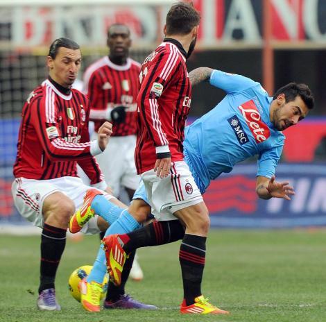 Juventus si Milan remizeaza acasa, Roma o desfiinteaza pe Inter. Vezi rezultatele din Italia!