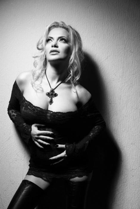 "FOTO! Andreea Antonescu: ""Madonna m-a copiat!"""
