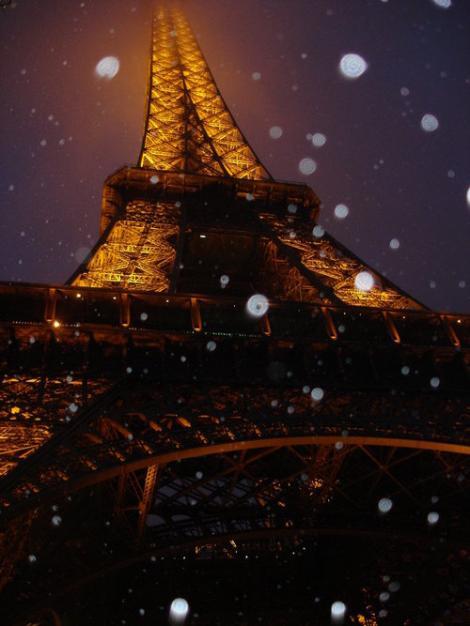 VIDEO! Turistii europeni, bucurosi de iarna si de zapada