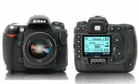 Primul aparat foto cu rezolutie de 36,3 megapixeli: Nikon D800