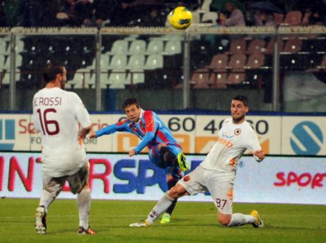 Catania - AS Roma 1-1 dupa rejucarea ultimelor 20 de minute