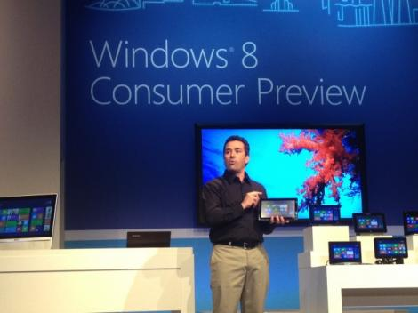 VIDEO! Microsoft a prezentat Windows 8 la Barcelona